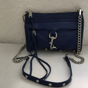 ⭐️NEW⭐️REBECCA MINKOFF BLUE LEATHER CROSSBODY BAG